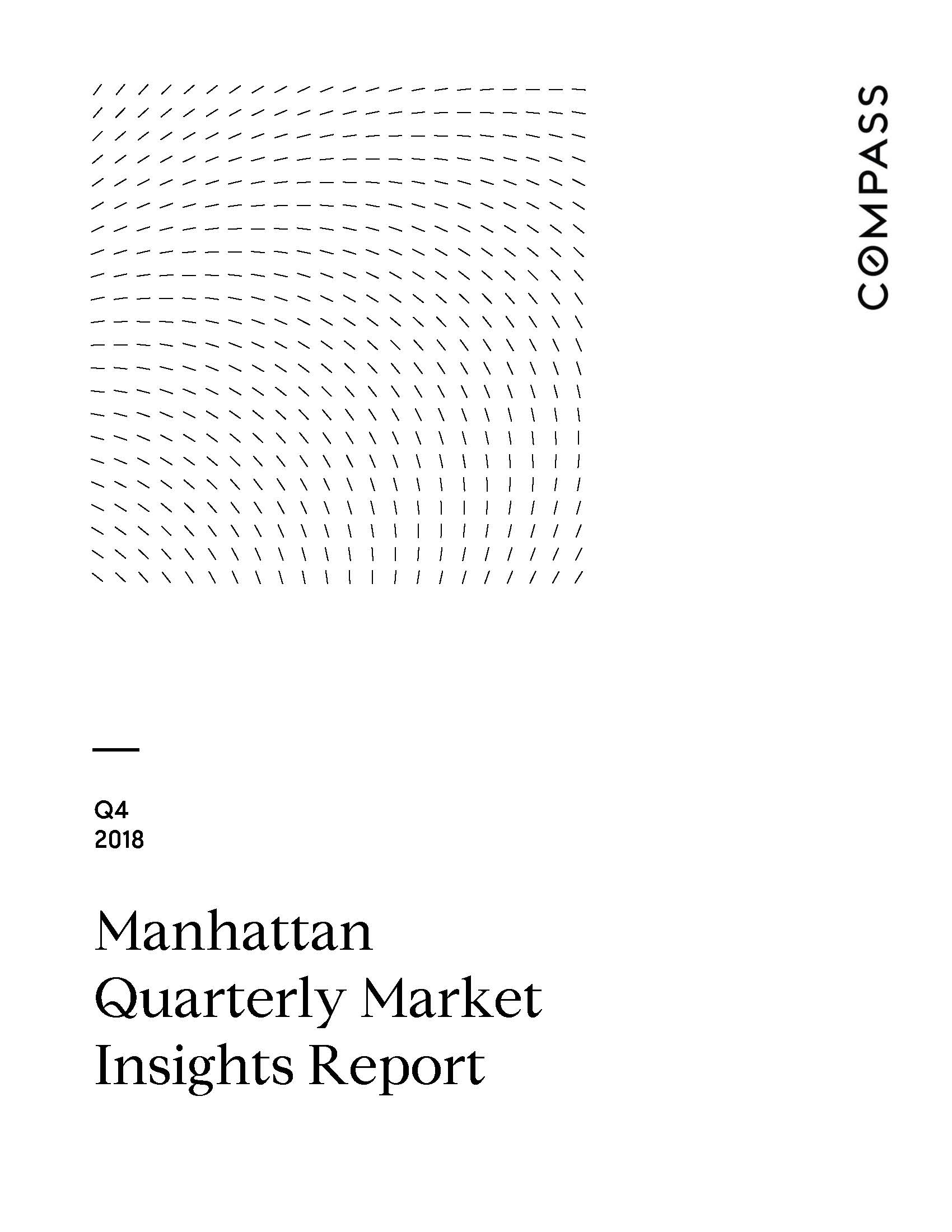 Manhattan Quarterly Market Insights Report - Q4 2018